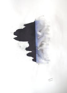 Vacío, aguada sobre papel, 2015